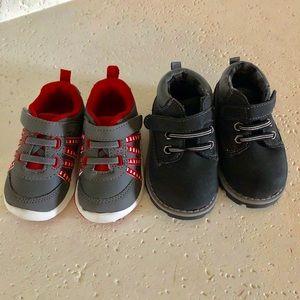 Garanimals Baby Boy shoes Lot Boots Sneakers SZ 4